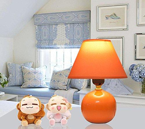 Kesierte E27 tavolo in ceramica lampade da comodino lampada da letto minimalista moderna cinese creativa del tessuto feed caldo e sveglio 13inch decorazioni piccola lampada , a