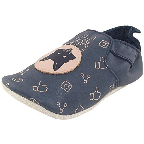 Bobux Fox Loafer Print, Chaussures Premiers Pas Bébé