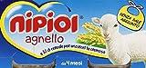 Nipiol - Alimento Per l'Infanzia, Omogenizzato con Agnello e Cereale - 160 ml