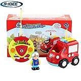 s-idee® 18166 RC Feuerwehrauto für Kleinkinder ab DREI Jahren mit Musik und Lichteffekte Spielzeug Auto ferngesteuert Baby rc