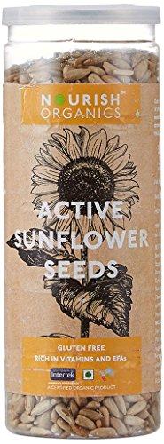 Nourish Organics Active Sunflower Seeds, 150g