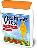 ActiveVits Curcuma 500mg 90 Kapseln Für Eine Bessere Verdauung und Gegen Entzündungen