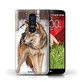 Stuff4 Coque de Coque pour LG G2 / Loup Design/Animaux sauvages Collection