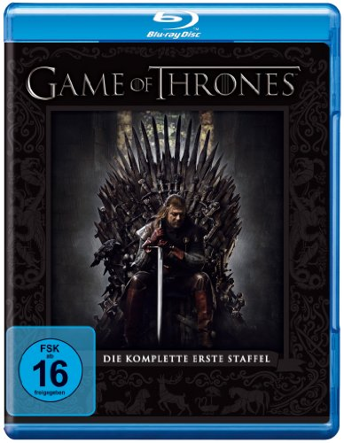 game of thrones staffel buecher Game of Thrones - Die komplette erste Staffel [Blu-ray]