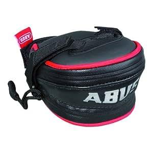 ABUS Satteltasche Top Zone ST 5125 KF Tecbag, schwarz/rot, 15 x 9 x 7 cm, 51593-4