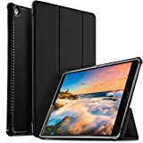 Huawei MediaPad M5 10.8 Zoll Hülle, IVSO Ultra Schlank Ständer Slim zubehör Schutzhülle ideal geeignet für Huawei MediaPad M5 10.8 Pro /M5 10.8 2018 Modell Tablet PC (SZ-Schwarz)