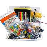 Electronique Composant Best Deals - WINOMO Fans de composants électronique paquet ensemble d'éléments pièces Kit pour Arduino