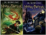 Harry Potter and the Philosopher's Stone + Harry Potter and the Chamber of Secrets (Harry Potter 2) (Set o