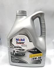 Mobil Super 3000 Formula FE 5W-30 Fully Synthetic Petrol/Diesel Engine Oil (3.5 L)
