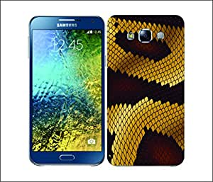 Galaxy Printed 2838 Snake Skin Pattern Ball Hard Cover for Samsung CORE PLUS