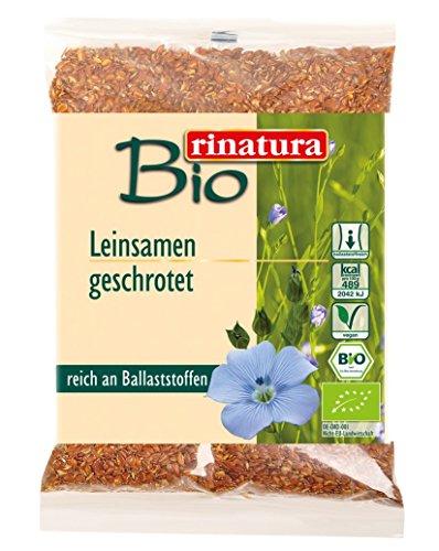 rinatura Leinsamen geschrotet Bio 250 g