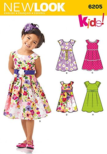 New Look Sewing Pattern 6205 - Child's