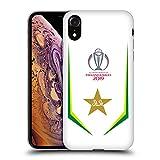 Head Case Designs Ufficiale International Cricket Council Bat Pakistan Cricket World Cup Cover in Morbido Gel Compatibile con iPhone XR