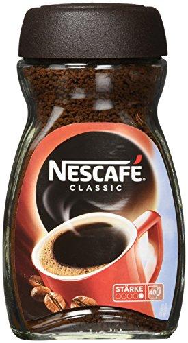 Nescafé Classic, Löslicher Kaffee, 4X100g Glas, 4er pack