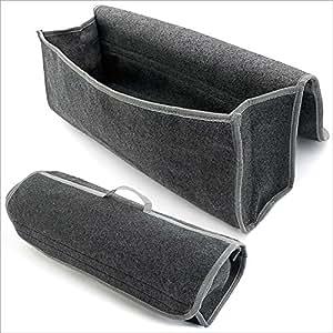 Relaxdays Kofferraumtasche Zubehörtasche mit Tragegriff und Klettverschluss
