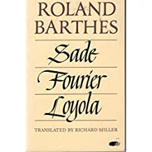 Sade/ Fourier/ Loyola