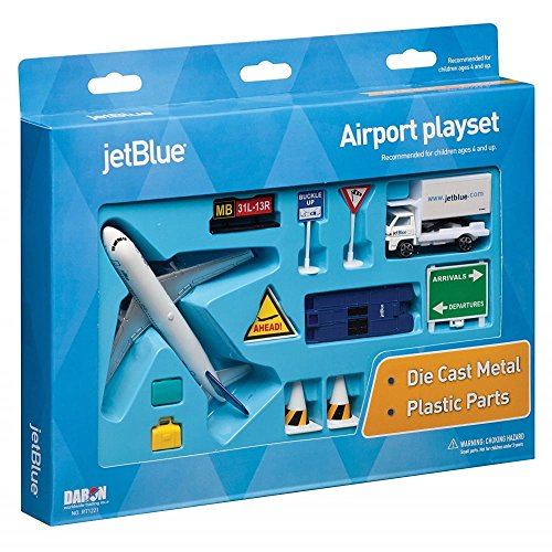 daron-jetblue-11-piece-model-play-set