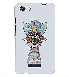 PRINTSWAG CARTOON CHARACTER Designer Back Cover Case for MICROMAX Q372 UNITE 3
