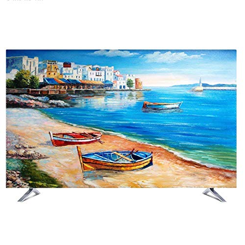 NACHEN Fernseher Abdeckung Für Innenanwendung Staub Und Wasserfest TV Schutz Für HDTV, LCD, LED Und Plasma Schutzhülle,Color2,37 37 Lcd Tv