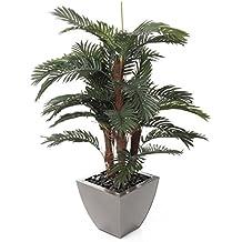 Closer To Nature (I-Fulfilment) Planta Artificial de seda, palmera Areca, verde