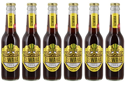 Gewara - Cuban Style Cola Erfrischungsgetränk Limonade - 6x0,33l inkl. Pfand