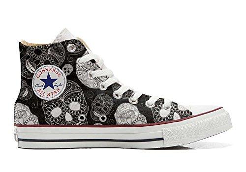 Converse All Star Hi chaussures coutume mixte adulte (produit artisanal) Paisley