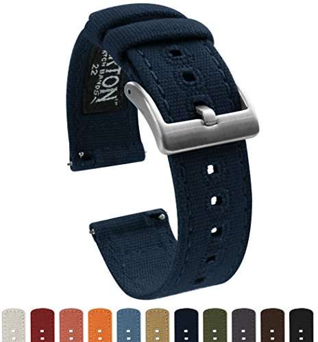 Montre - Barton Watch Bands - CANQRNAVY22