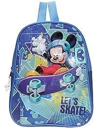 Mickey - Petit sac à dos pour la maternelle, Mickey fait du skate