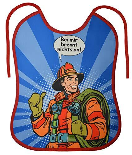 Mega-Shirt Erwachsenen Lätzchen Bei mir brennt nichts an Spass Artikel für die Geburtstagsparty Renter Partyspiele Gr: OneSize -