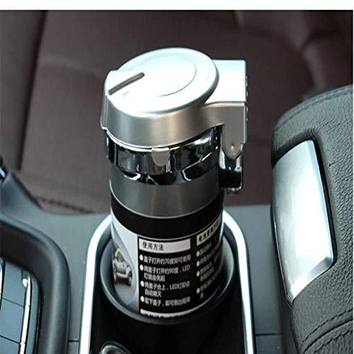 XXYMCB Auto LKW Blaue LED Zigarettenrauch Auto Aschenbecher (Aschenbecher Für Lkw)