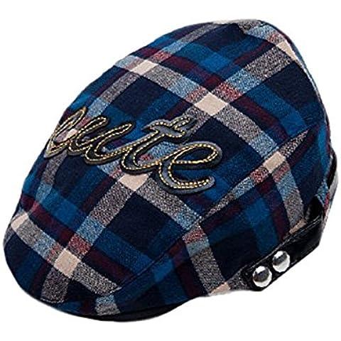 SAMGU Beanie clásico tela escocesa boina sombrero niño sombrero niños para Unisex Niños y