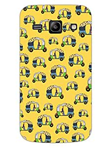 Rickshaw Love - Tuk Tuk - Urban - Hard Back Case Cover for Samsung Core Prime - Superior Matte Finish - HD Printed Cases and Covers