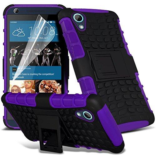 Étui pour HTC Desire 626 / HTC Desire 626 E5603, E5606, E5653 Titulaire de téléphone Case voiture universel Mont Cradle Tableau de bord et pare-brise pour iPhone yi -Tronixs Violet