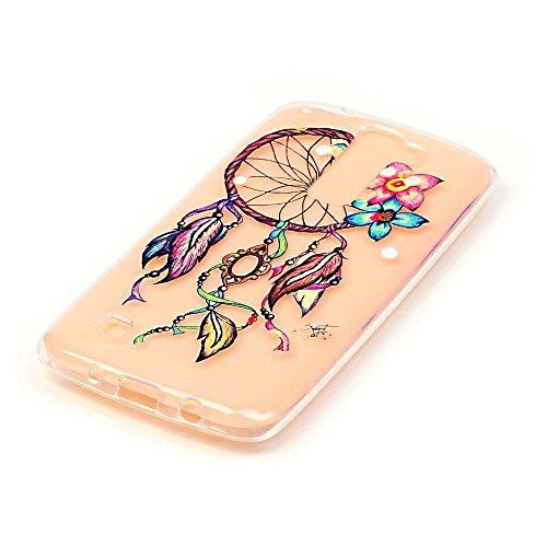 Per iPhone 7 Plus Custodia,Mobilefashion Custodia in Ultra Sottile TPU Protettiva Case Cover per Apple iPhone 7 Plus 5.5 inch (lupo M) + Pellicola Protettiva Dono Gratuito + Colore casuale Protezione  Fiore campanula M