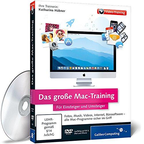 Pc Für Imovie-software (Das große Mac-Training - Für Einsteiger und Umsteiger (PC+Mac))