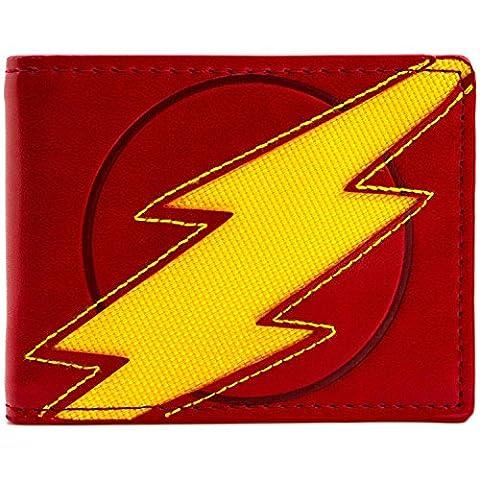 Marvel Flash Blitz Rot Portemonnaie Geldbörse (Zoom Film Kostüm)
