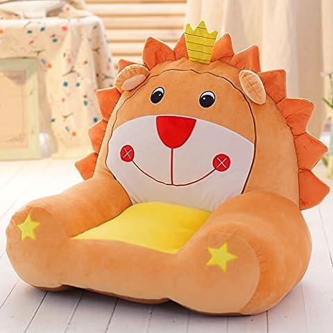 MeMoreCool Kindersofa Cartoon-Löwe, Kindersessel. Ruchtsicherer Tatami-Stuhl, Baby-Stuh, Geburtstagsgeschenk für Jungen