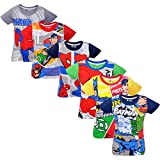 #9: Justice league boys halfsleeves t-shirt pack of 6