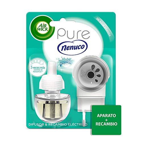 Air Wick ambientador eléctrico fragancia Nenuco, aparato + 1 recambio