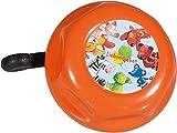 Bike Fashion Kinder Fahrradglocke Die Lieben, orange, 5 x 5 x 5 cm, 819084