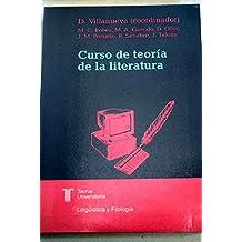 Curso de Teoría de La Literatura