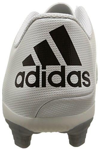 adidas - X 15.4 Fxg, Scarpe da calcio Uomo Weiß (Ftwr White/Core Black/Silver Met.)