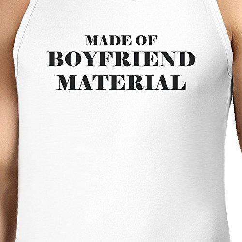 365 Printing Herren Pullunder One size Boyfriend Material - White