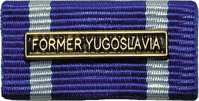 Weitere... Bandschnalle Auslandseinsatz Jugoslawien