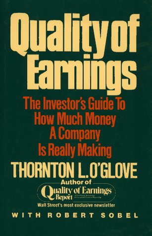 Quality of Earnings: Report por Thornton O'Glove