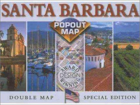 Rand McNally Santa Barbara County Popout Map