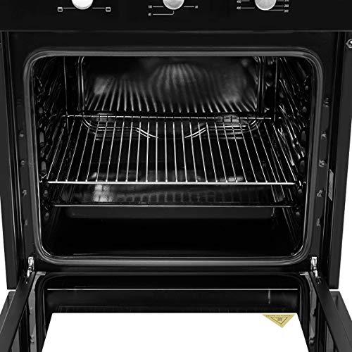 510Sb3JiEcL. SS500  - COSTWAY Built-in Stainless Steel 71L Electric Multifunction Oven with 4 Cooking Modes, Timer Function, Removable Double…