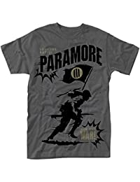 Paramore Minefield Grey Official Mens T Shirt (S)