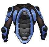 Protektorenjacke Motorrad Motocross Skatebording Protektoren Armour KörperPanzer, Größe:L