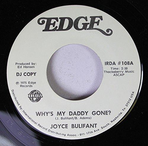 Joyce Bulifant 45 RPM Why's My Daddy Gone? / Why's My Daddy Gone?